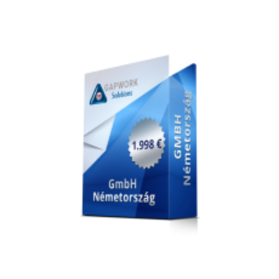 GmbH € 1.998 19% VAT